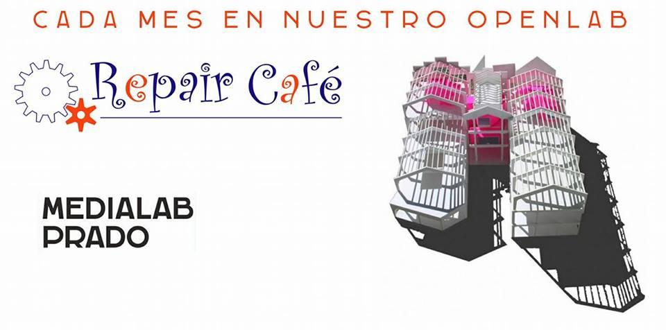 Tarjeta de Repair Café Madrid